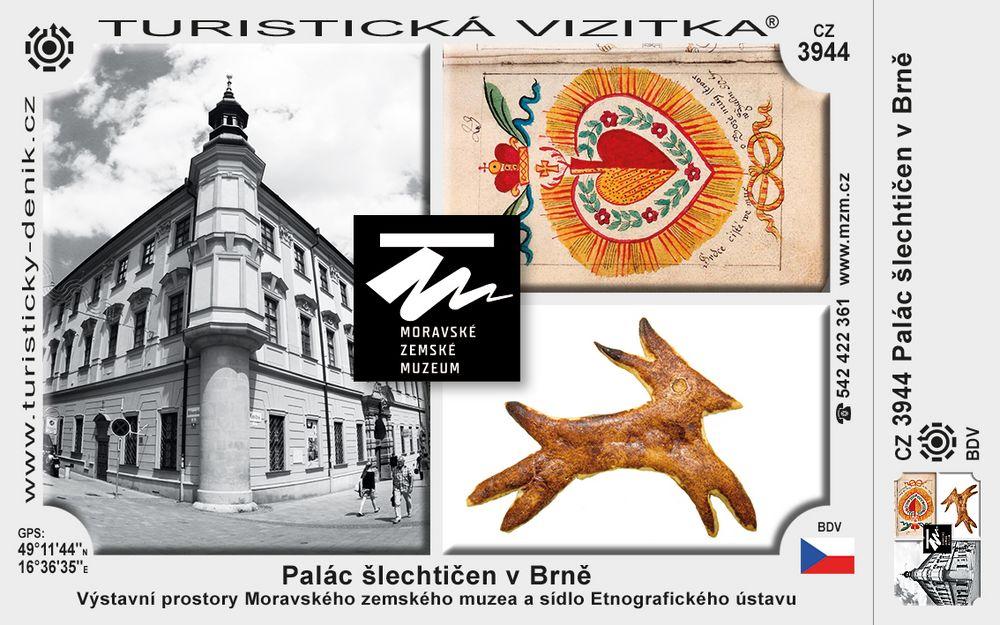 Palác šlechtičen v Brně