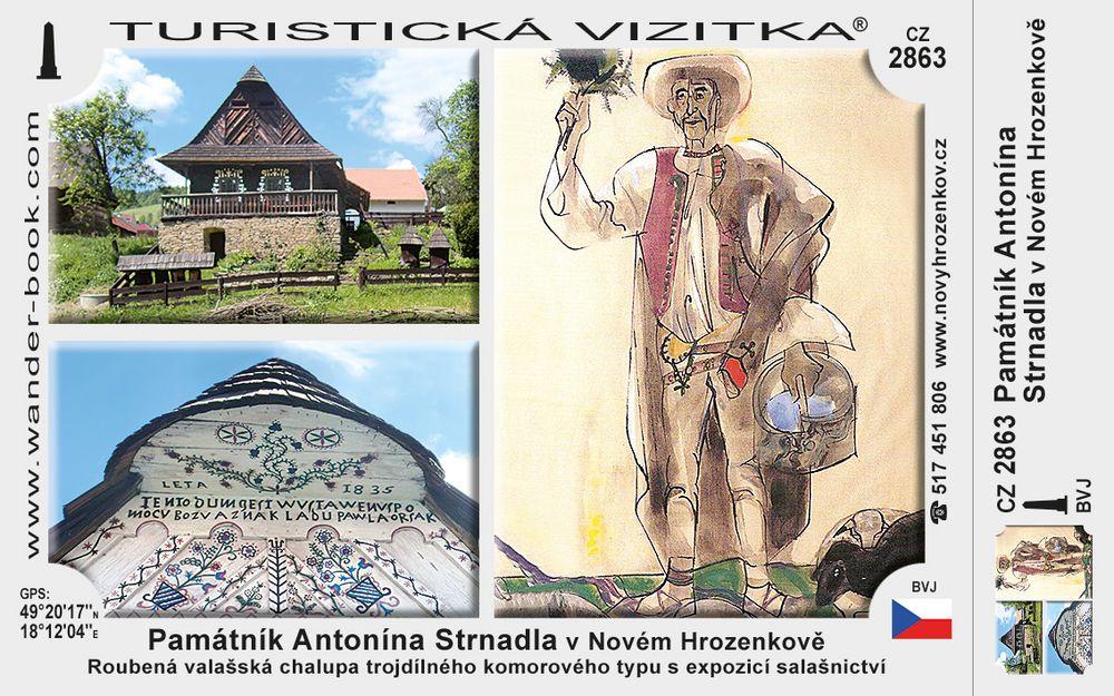 Památník A. Strnadla v Novém Hrozenkově