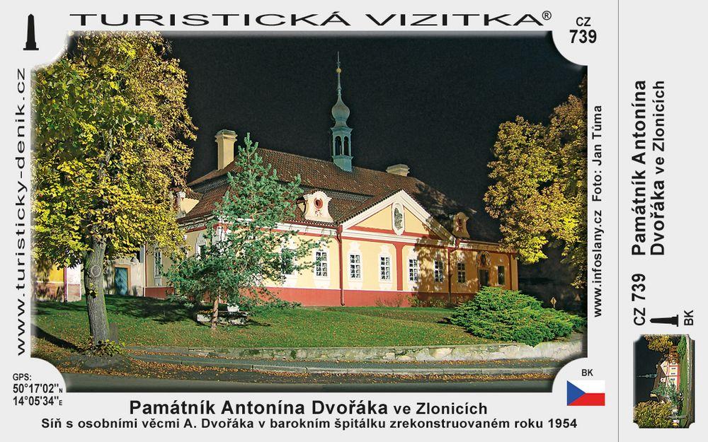 Památník Antonína Dvořáka ve Zlonicích
