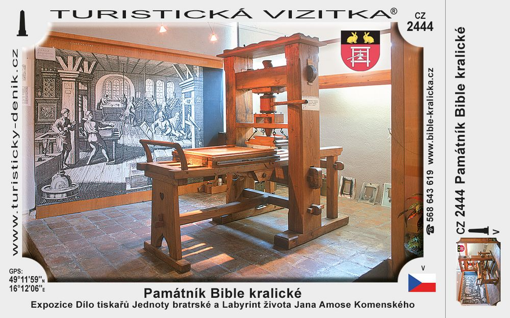 Památník Bible kralické