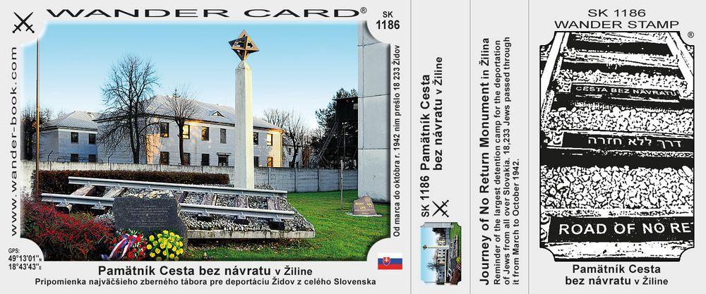 Pamätník Cesta bez návratu v Žiline