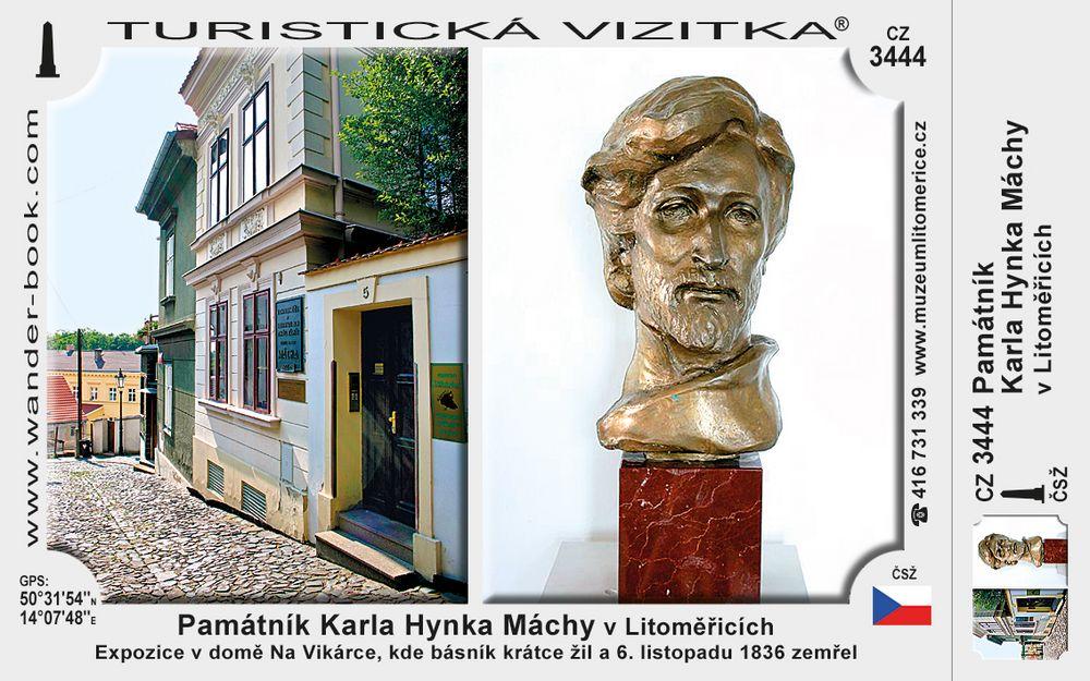 Památník K. H. Máchy v Litoměřicích