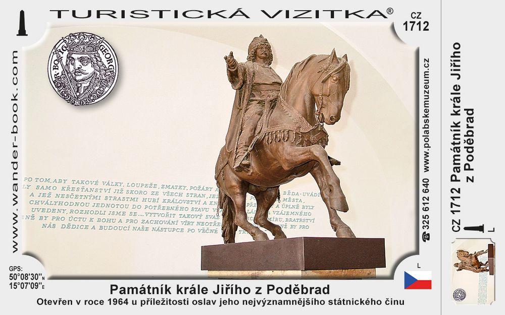 Památník krále Jiřího z Poděbrad