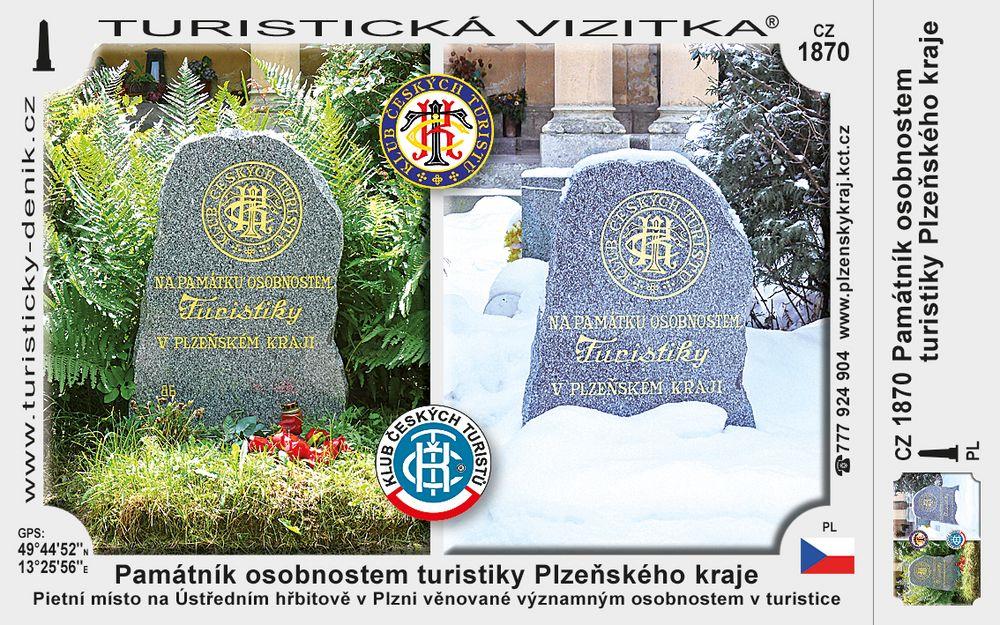 Památník osobnostem turistiky Plz. kraje