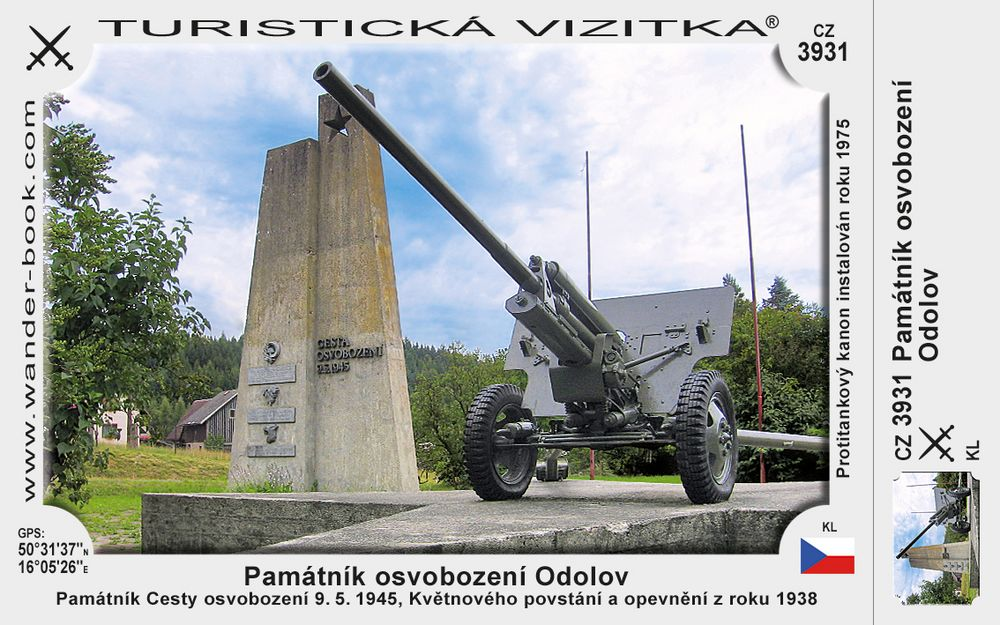 Památník osvobození Odolov