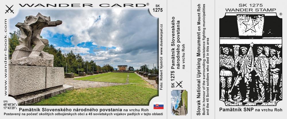 Pamätník Slovenského národného povstania na vrchu Roh