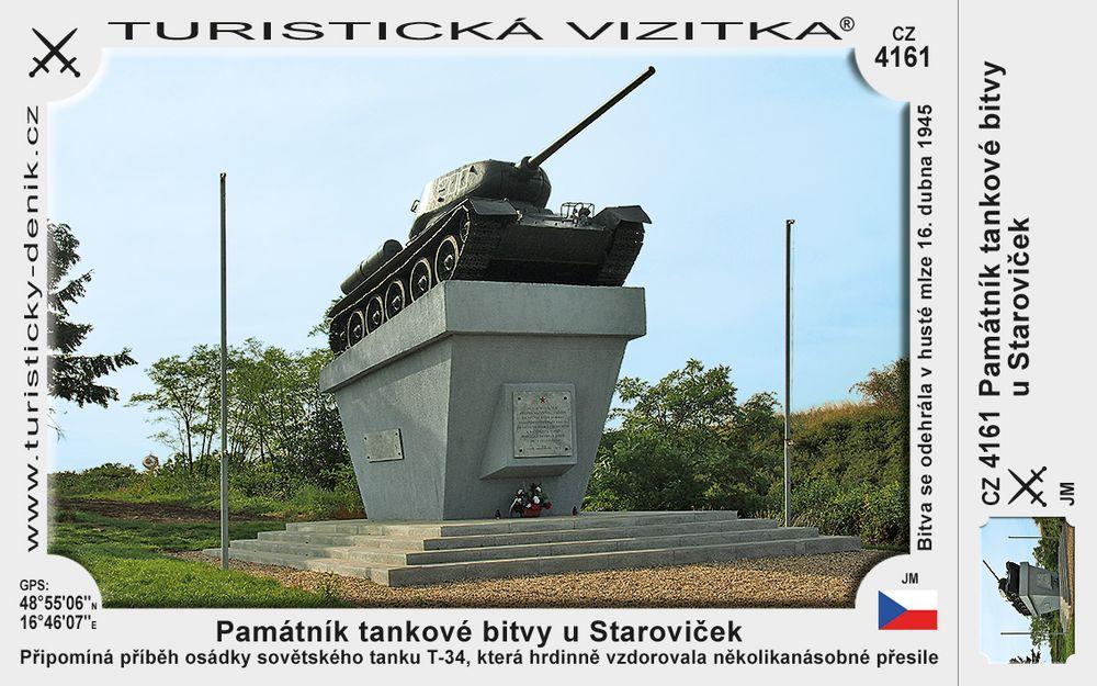 Památník tankové bitvy u Staroviček