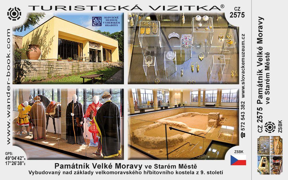 Památník Velké Moravy ve Starém Městě