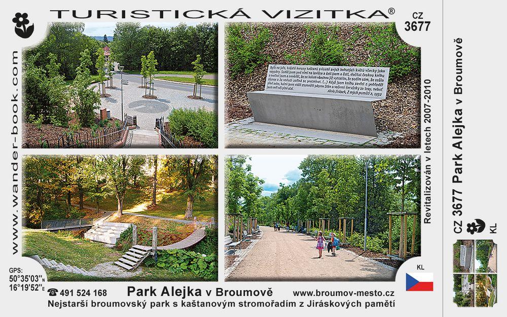Park Alejka v Broumově