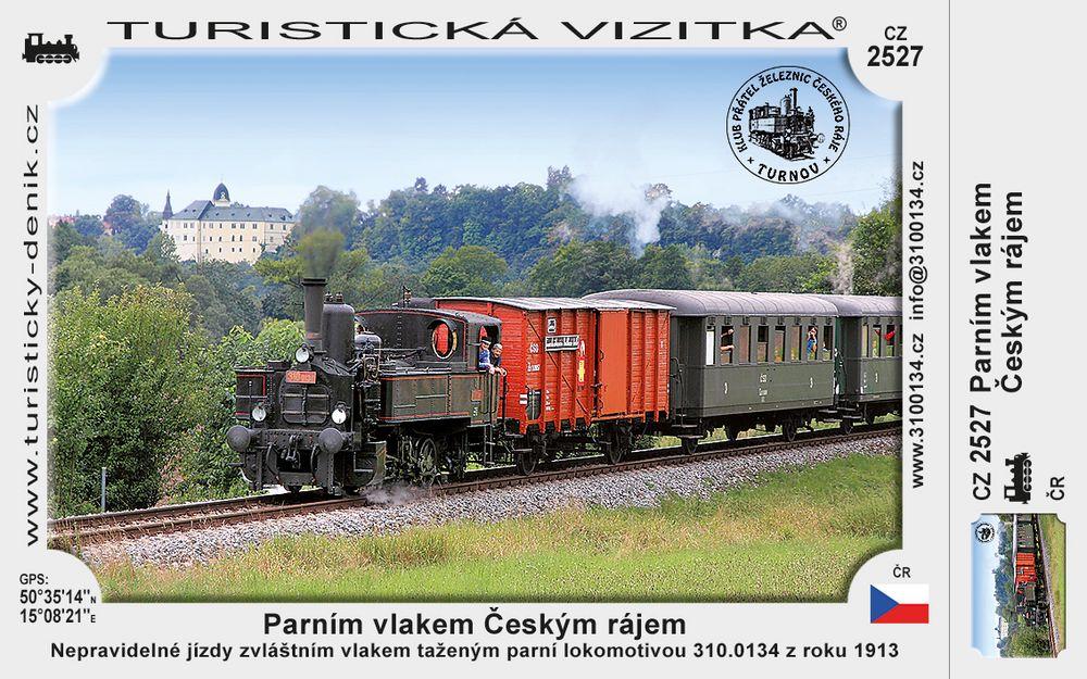 Parním vlakem Českým rájem