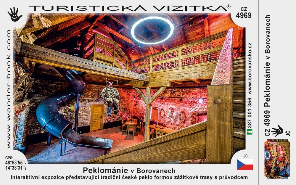 Peklománie v Borovanech