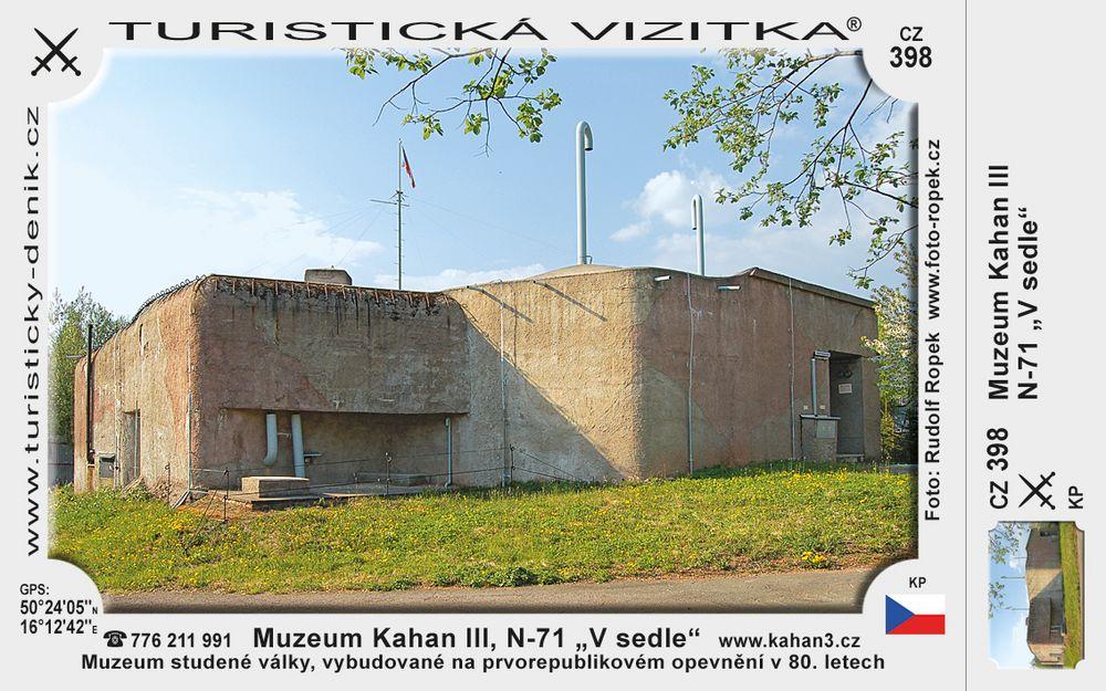 """Pevnost Kahan III, N-71 """"V sedle"""""""