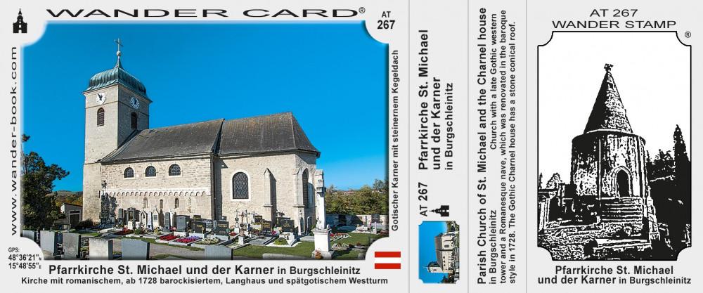 Pfarrkirche St.Michael und der Karner in Burgschleinitz