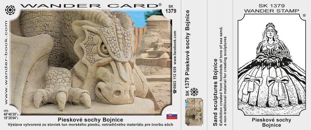 Pieskové sochy Bojnice