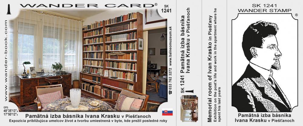 Pamätná izba básnika Ivana Krasku v Piešťanoch