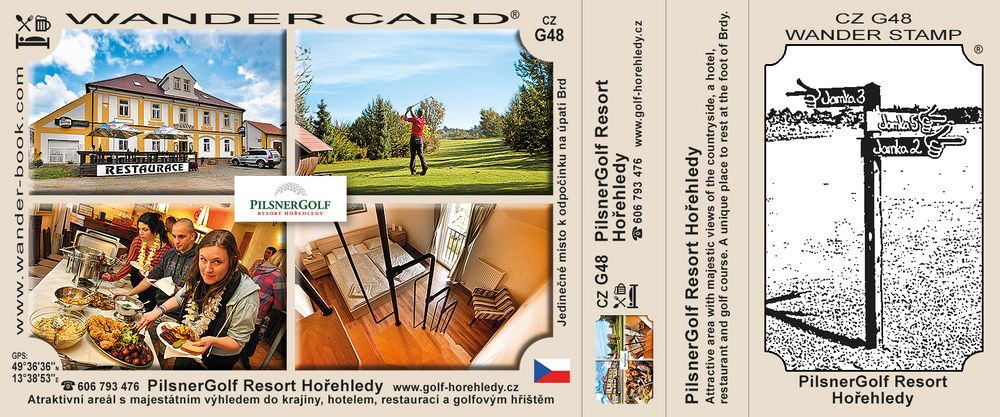 PilsnerGolf Resort Hořehledy