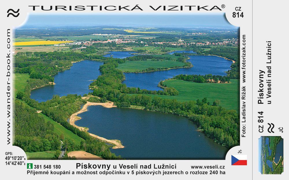 Pískovcová jezera u Veselí nad Lužnicí