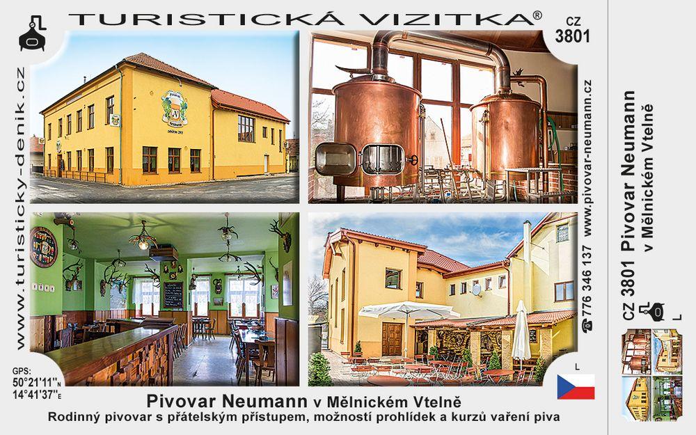 Pivovar Neumann v Mělnickém Vtelně