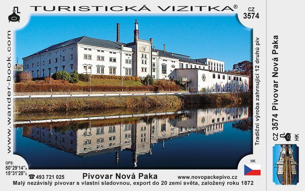 Pivovar Nová Paka