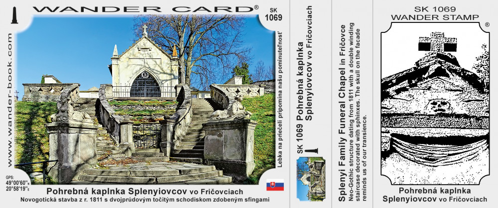 Pohrebná kaplnka Splenyiovcov vo Fričovciach