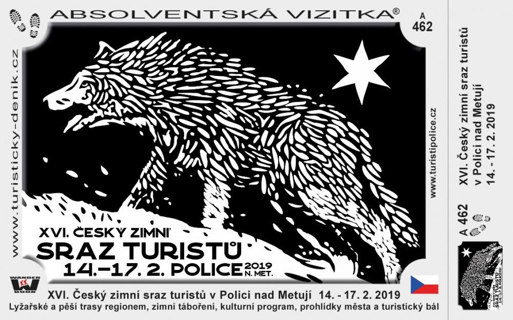 XVI. Český zimní sraz turistů v Polici nad Metují  14. - 17. 2. 2019