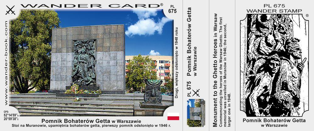 Pomnik Bohaterów Getta w Warszawie