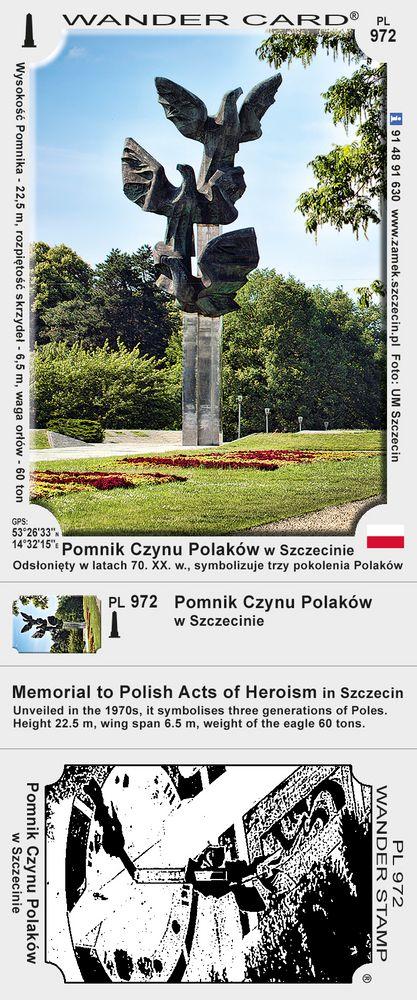 Pomnik Czynu Polaków w Szczecinie