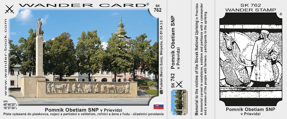 Pomník Obetiam SNP v Prievidzi