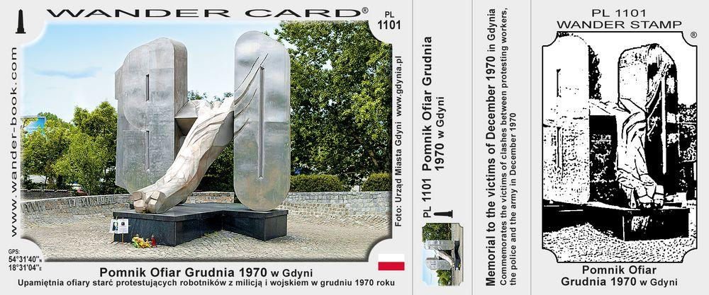 Pomnik Ofiar Grudnia 1970 w Gdyni