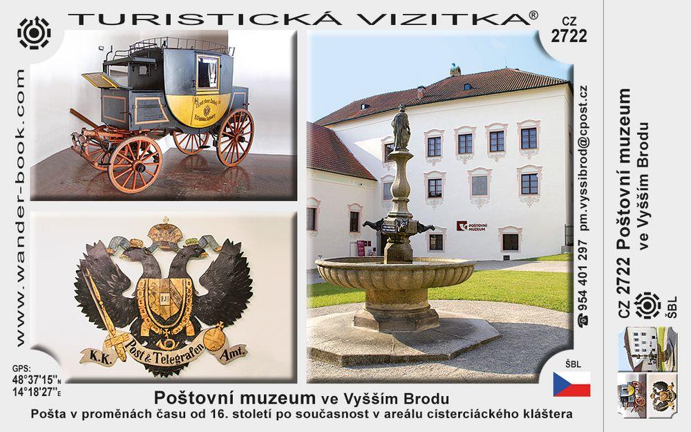 Poštovní muzeum ve Vyšším Brodu