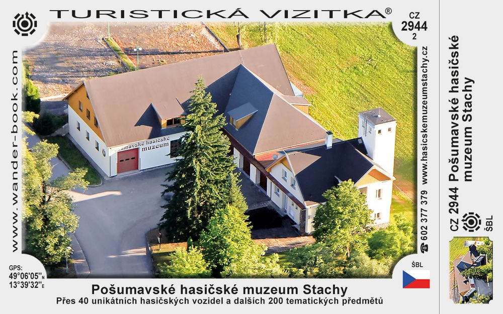 Pošumavské hasičské muzeum Stachy