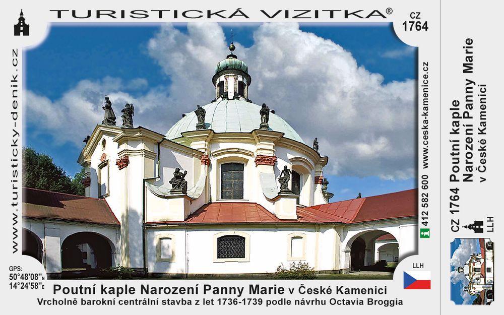 Poutní kaple Nar. Panny M. v Č. Kamenici