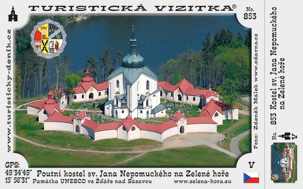 Poutní kostel sv. J. Nepomuckého na Z. h.