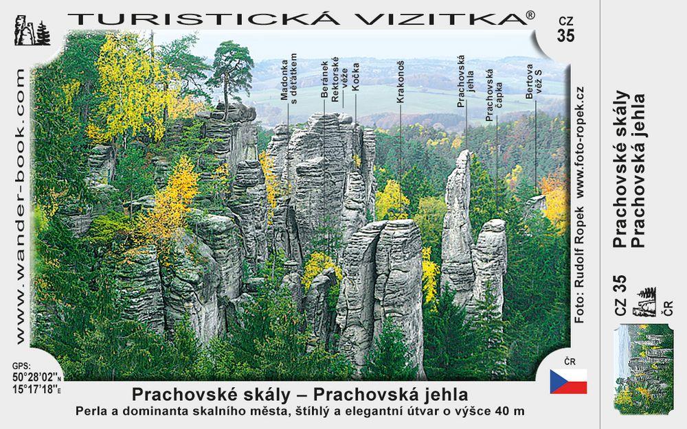 Prachovská jehla v Prachov. skalách