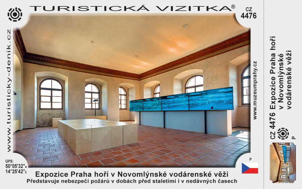 Praha expozice Praha hoří