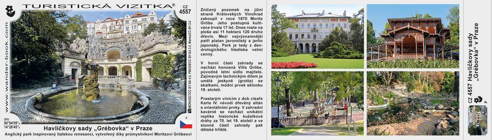 Praha Havlíčkovy sady