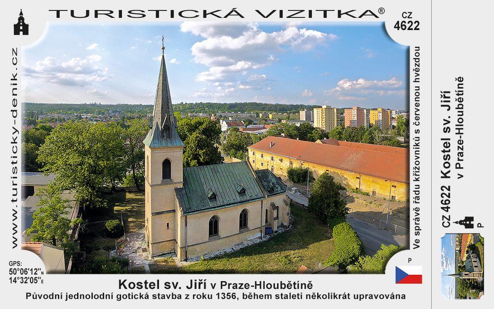 Praha Hloubětín kostel sv. Jiří