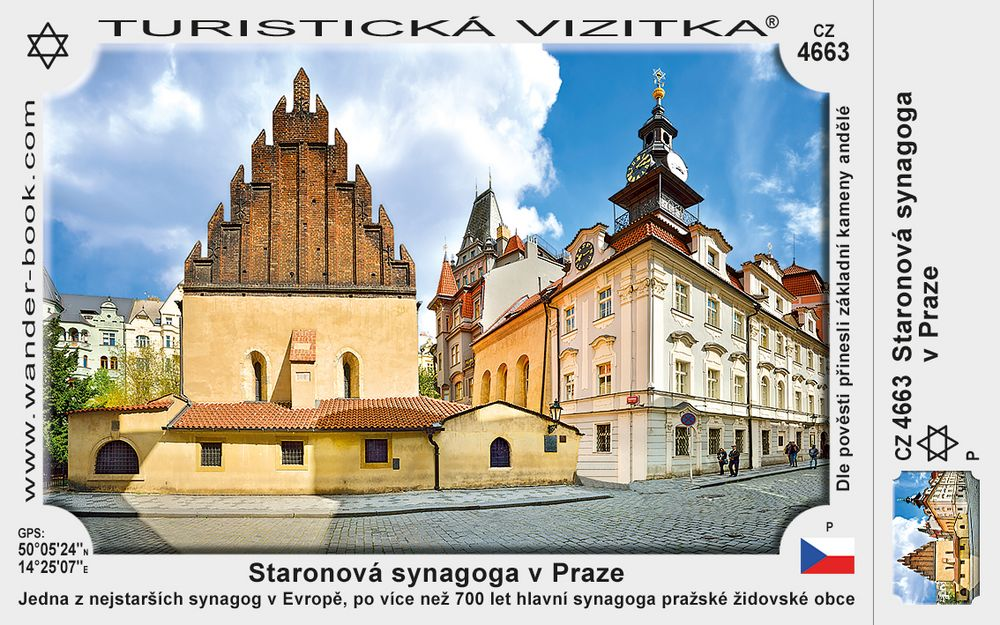 Praha Staronová synagoga