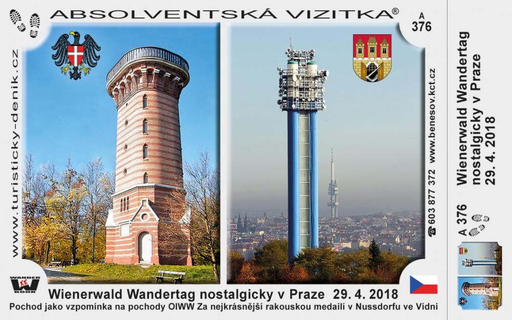 Praha Vídeň vzpomínkový pochod 2018