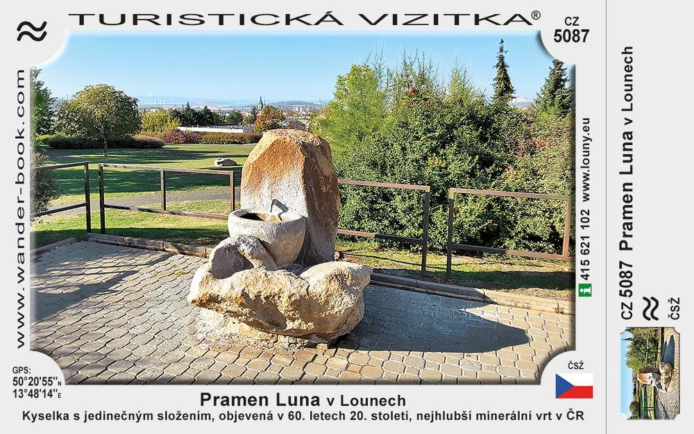Pramen Luna v Lounech