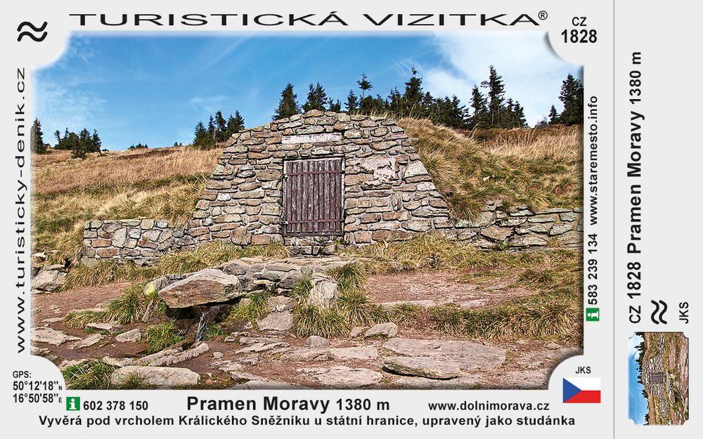 Pramen Moravy