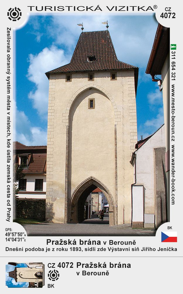 Pražská brána v Berouně