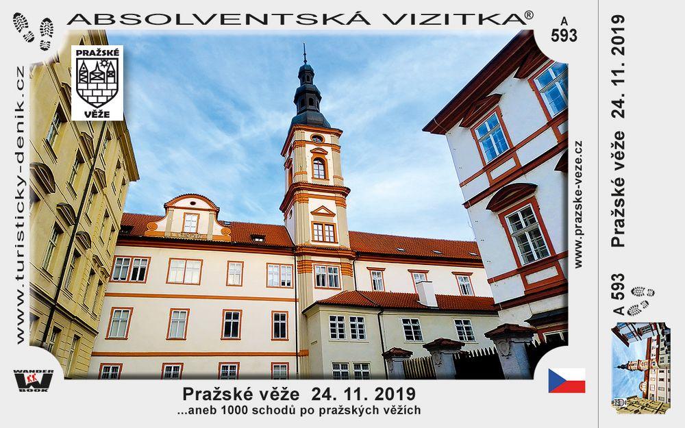 Pražské věže  24. 11. 2019