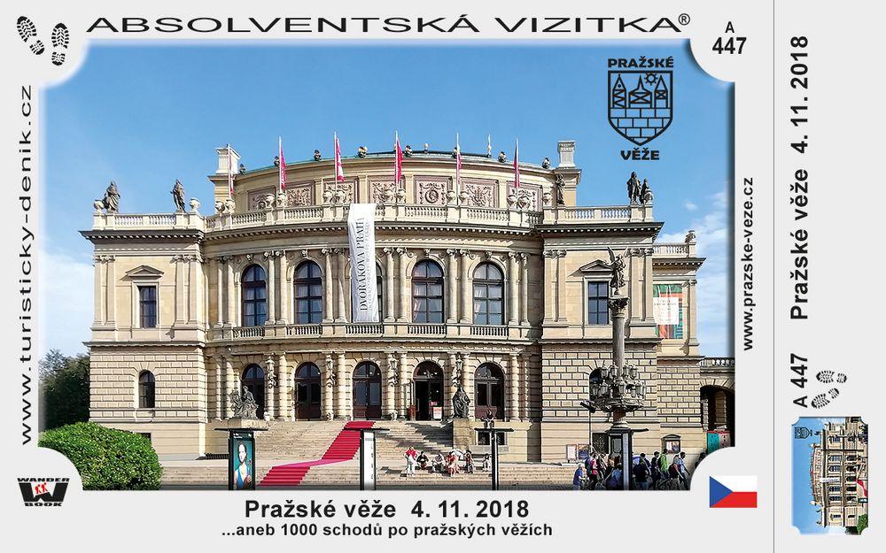 Pražské věže  4. 11. 2018