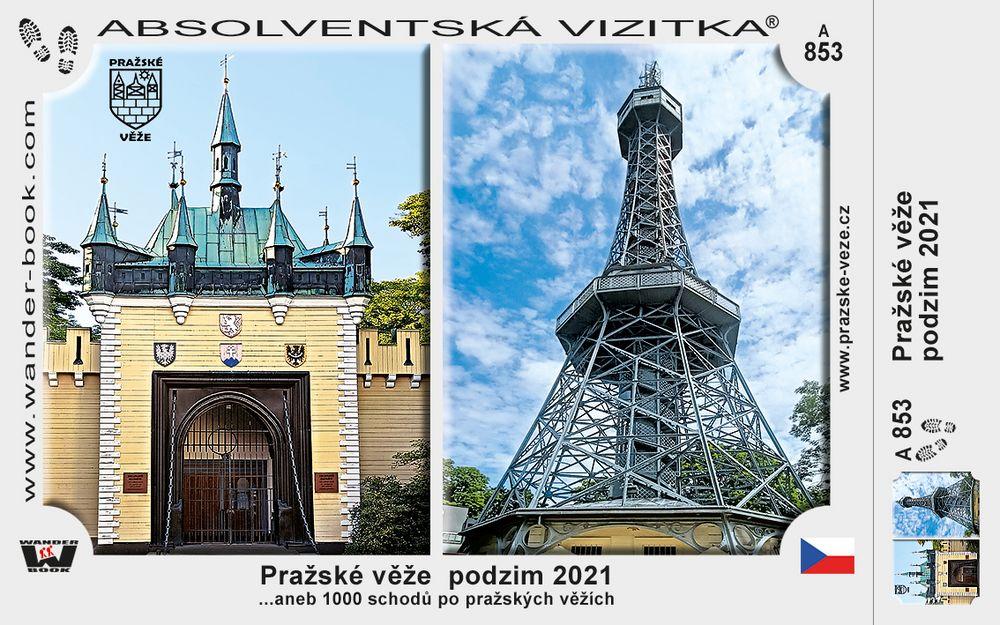 Pražské věže  podzim 2021