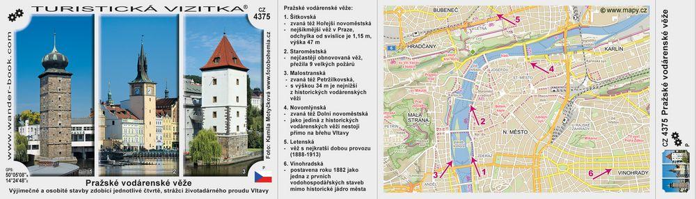 Pražské vodárenské věže