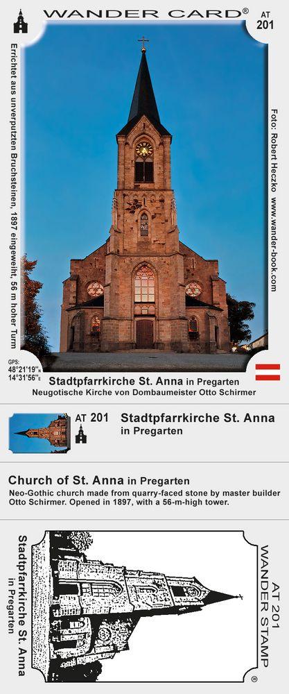 Stadtpfarrkirche St. Anna in Pregarten