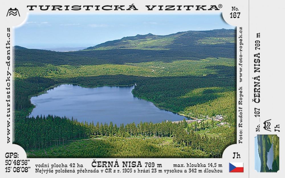 Přehrada na Černé Nise