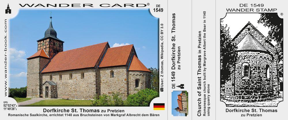 Pretzien Thomaskirche
