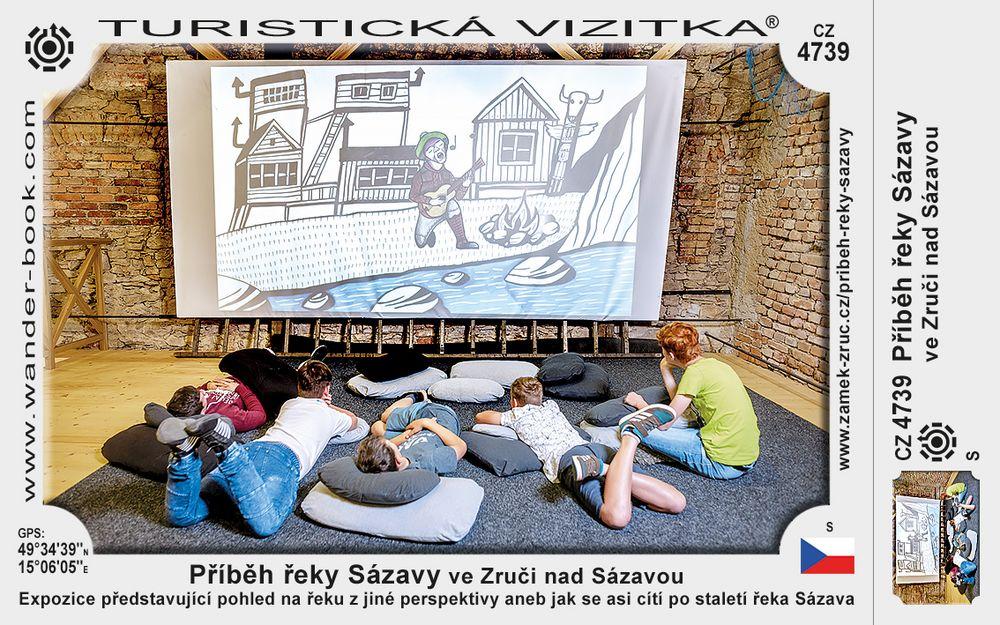 Příběh řeky Sázavy ve Zruči nad Sázavou